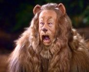Lion-cowardly